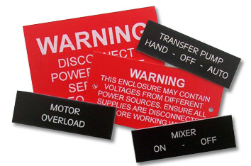 Engraved Electrical Panel Tags